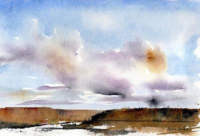 Painting - Desert Storm by Anne Duke