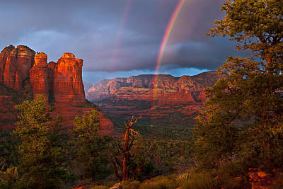 Sedona Photograph - Desert Storm by Guy Schmickle