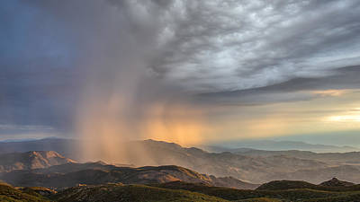 Anza Borrego Desert Photograph - Desert Storm by Joseph Smith