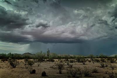 Photograph - Desert Summer Rains by Saija Lehtonen