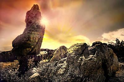 Photograph - Desert Sun God by Diana Angstadt