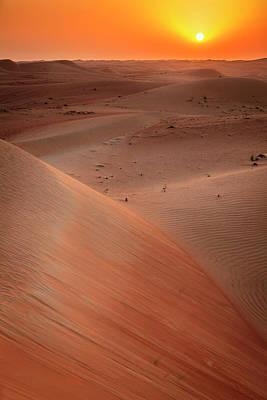 Photograph - Desert Sunrise by Alexey Stiop