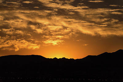 Photograph - Desert Sunrise by Ed Clark