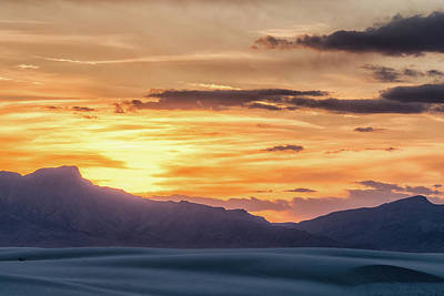 Photograph - Desert Sunset by Framing Places