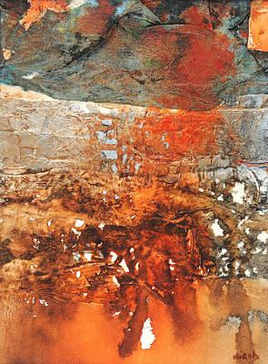 Desert Sunset Mixed Media - Desert Sunset I by Cathy Hirsh