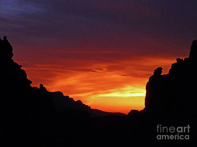Photograph - Desert Sunset by Methune Hively