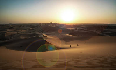 Desert Sunset Photograph - Desert Sunset by Reinier Snijders