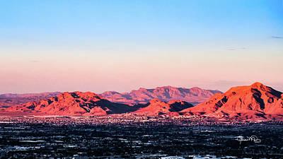 Photograph - Desert Sunset by Susan Molnar