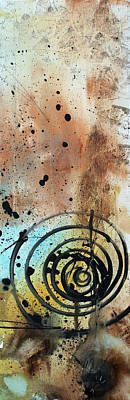 Desert Surroundings 4 By Madart Print by Megan Duncanson
