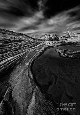 Photograph -  Desert Tarn by Mike Dawson