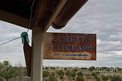Photograph - Desert Telegraph by David Arment