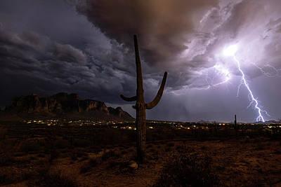 Photograph - Desert Thunder Part II  by Saija Lehtonen