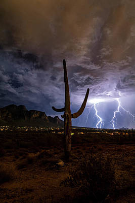 Photograph - Desert Thunder  by Saija Lehtonen