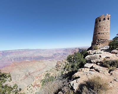 Photograph - Desert Tower At Canyon by Joe Myeress