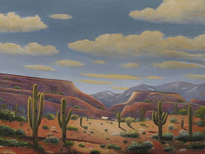 Painting - Desert Traveler by Gordon Beck