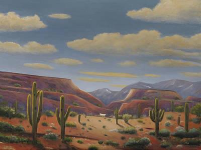 Scottsdale Western Painting - Desert Traveler by Gordon Beck