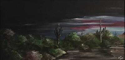 Painting - Desert Twilight  by Heidi Moss