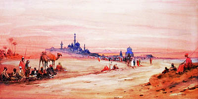 Photograph - Desert View by Munir Alawi