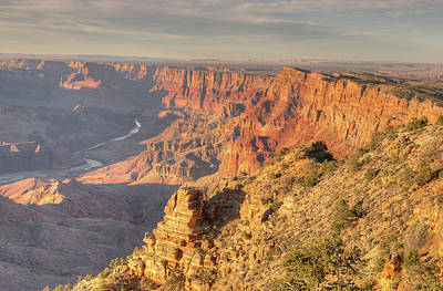 Photograph - Desert View Sunset by Ray Devlin