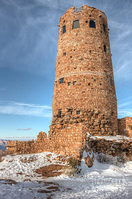 Photograph - Desert View Watchtower by Clarence Holmes