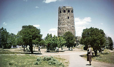 Photograph - 1950 Desert View Watchtower Colter by Marilyn Hunt