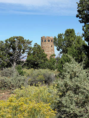 Photograph - Desert View Watchtower by Laurel Powell