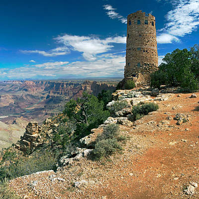 Desert View Watchtower Print by Nicholas Blackwell