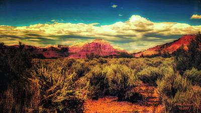 Photograph - Desert Vista ... by Chuck Caramella