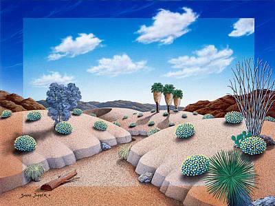 Desert Vista 2 Print by Snake Jagger