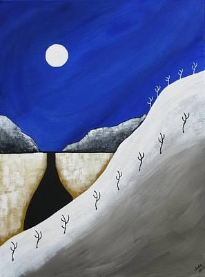 Painting - Desert Winter by Heidi Moss