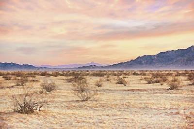 Photograph - Desert Winter Morning Yuma Arizona  by Jennie Marie Schell