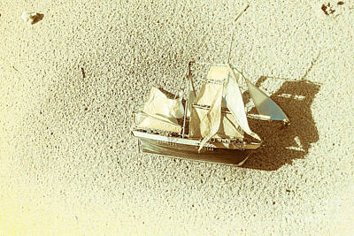 Photograph - Deserted Antique Sailing Ship by Jorgo Photography - Wall Art Gallery