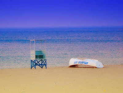 Flying Seagull Digital Art - Deserted Beach by Bill Cannon