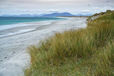 Photograph - Deserted Beach North Uist by Christopher Rees