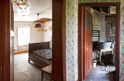 Deserted Bedroom - Urban Decay Art Print
