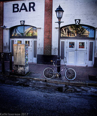 Photograph - Deserted Cycle I by Kathi Isserman