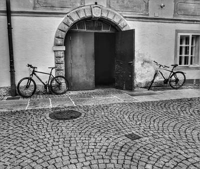 Photograph - Deserted Cycles by Kathi Isserman