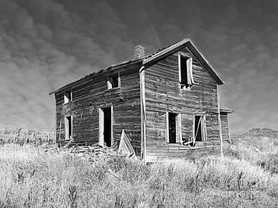 Photograph - Deserted Home On The Range by Kathy M Krause