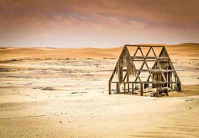 Photograph - Deserted House In The Namib Desert by Carmen Tosca