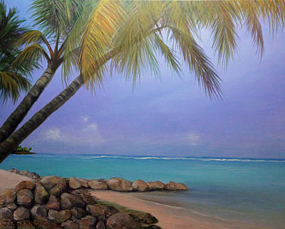 Painting - Deserted Island by Janet Greer Sammons