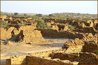 Photograph - Deserted Kuldhara by Sonali Gangane