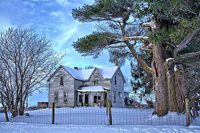 Photograph - Deserted On Mallard Winter by Bonfire Photography