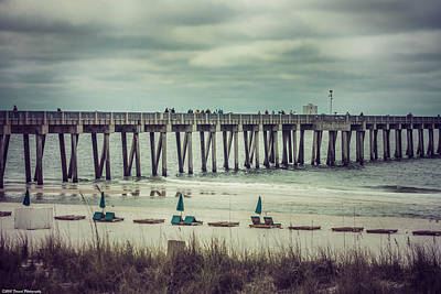 Photograph - Deserted Panama City Beach  by Debra Forand