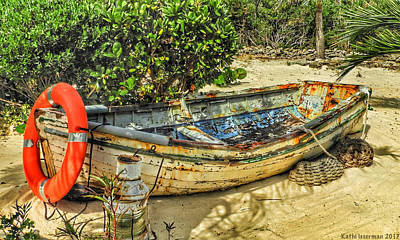 Photograph - Deserted Skiff by Kathi Isserman