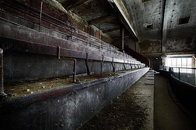 Photograph - Deserted Theatre Steps - Urban Exploration by Dirk Ercken