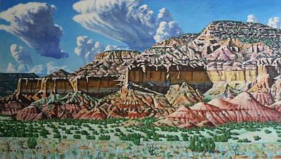 Painting - Ghost Ranch New Mexico by Allen Kerns