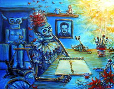 Painting - Desesperacion by Heather Calderon