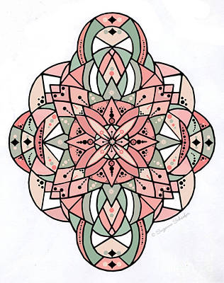 Digital Art - Design 118 E by Suzanne Schaefer
