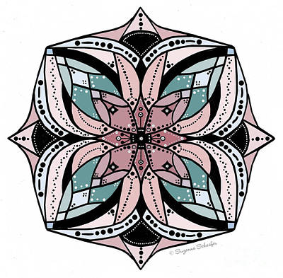 Digital Art - Design 219 F by Suzanne Schaefer