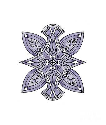 Digital Art - Design 221 B by Suzanne Schaefer